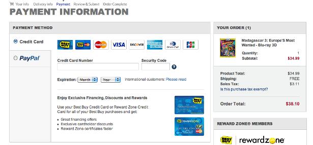 3)Альтернативные способы оплаты в корзине на коммерческом сайте