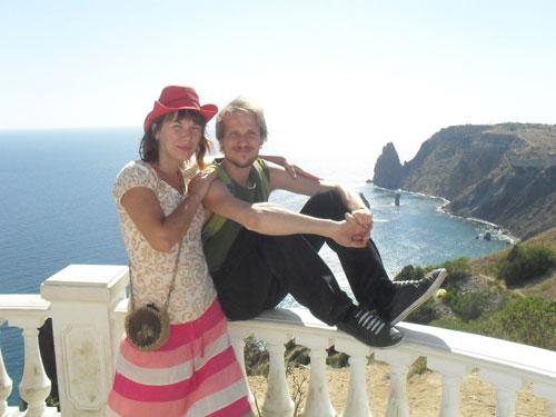 Сергей Кокшаров с женой Ириной