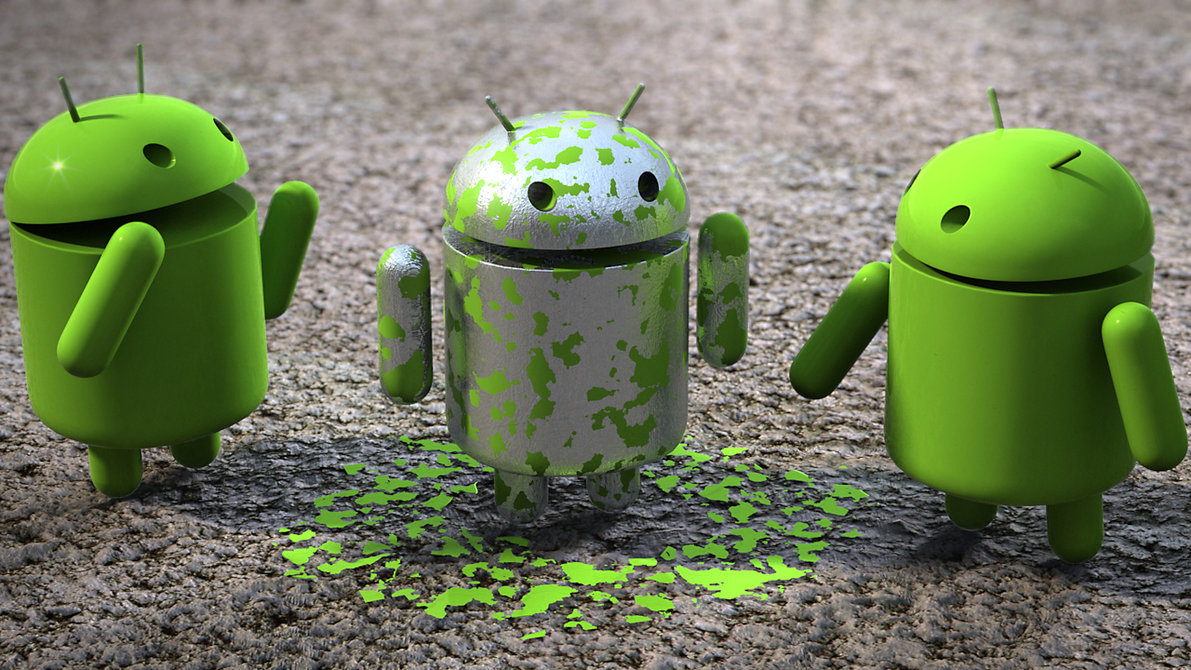 Прикольные картинки андроида, анимация
