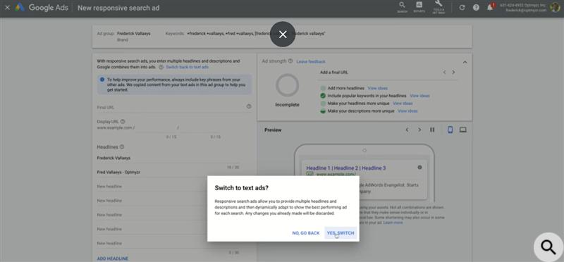 Google Ads отказался от текстовых объявлений в рамках эксперимента