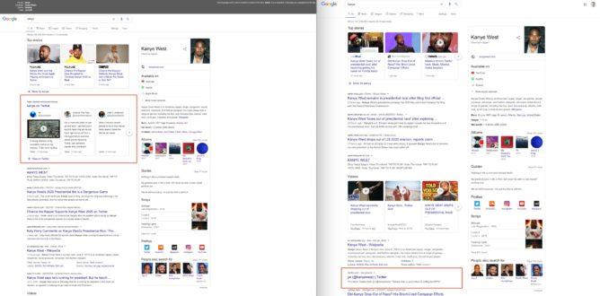 Google удалил блоки с публикациями в Twitter в поисковой выдаче