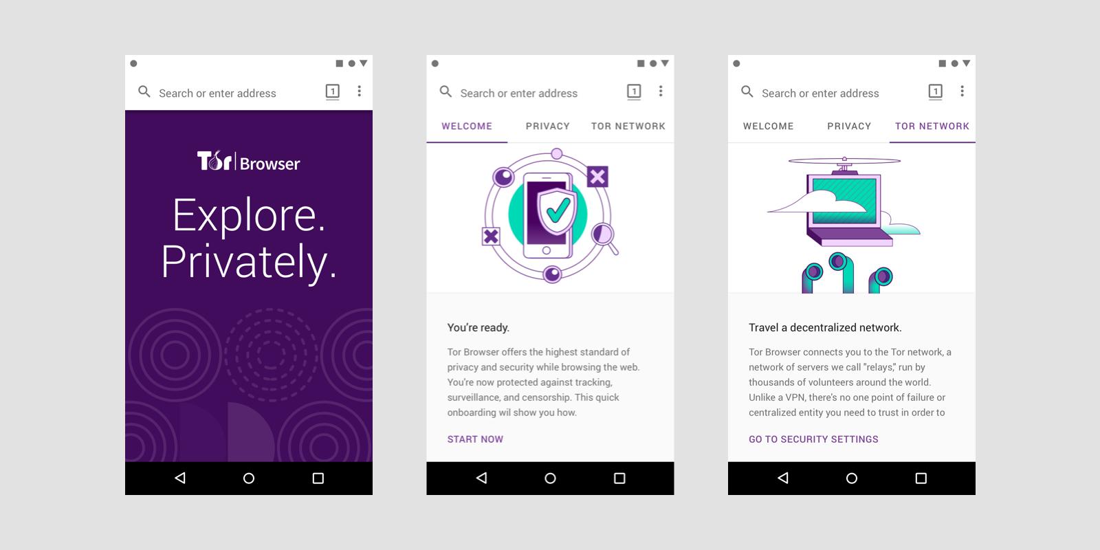 Анонимный браузер Tor появился на андроид
