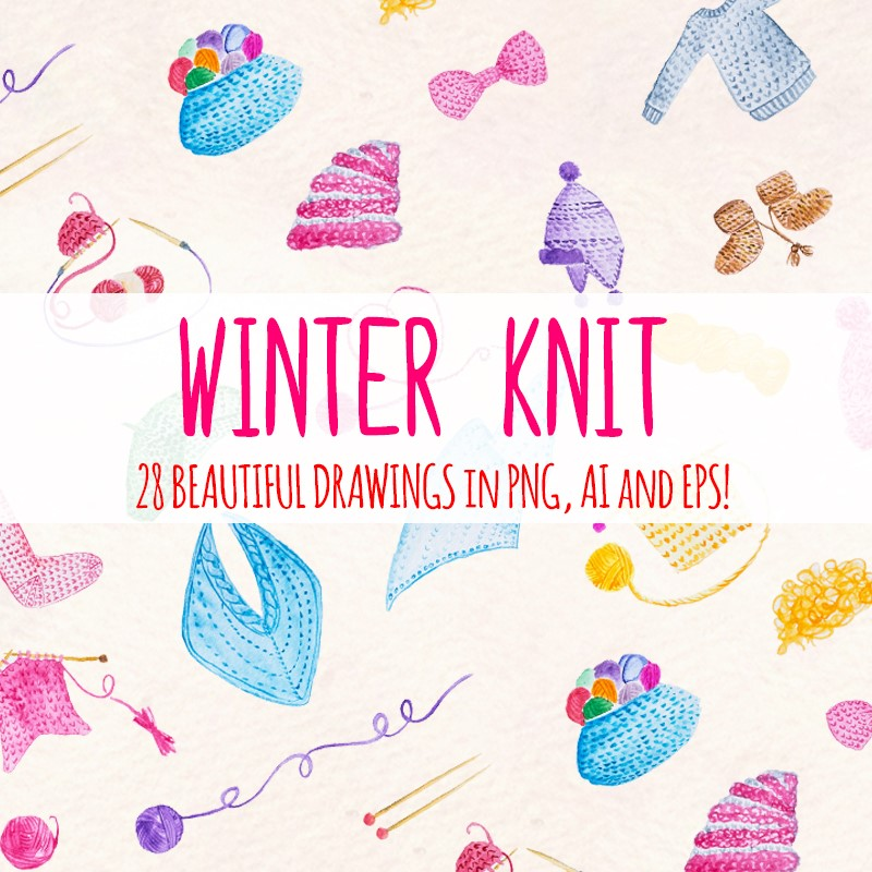 Иллюстрация 28 Winter Knitted