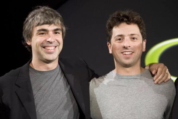 Основатели Google Ларри Пейдж и Сергей Брин покинули посты в Alphabet