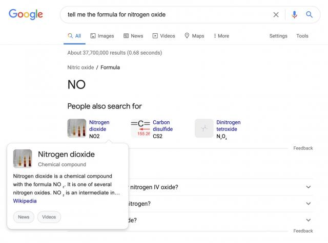 Google добавляет дополнительный оверлей в блок «Люди также ищут»