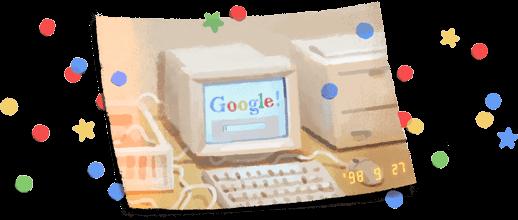 Google отмечает 21-й день рождения