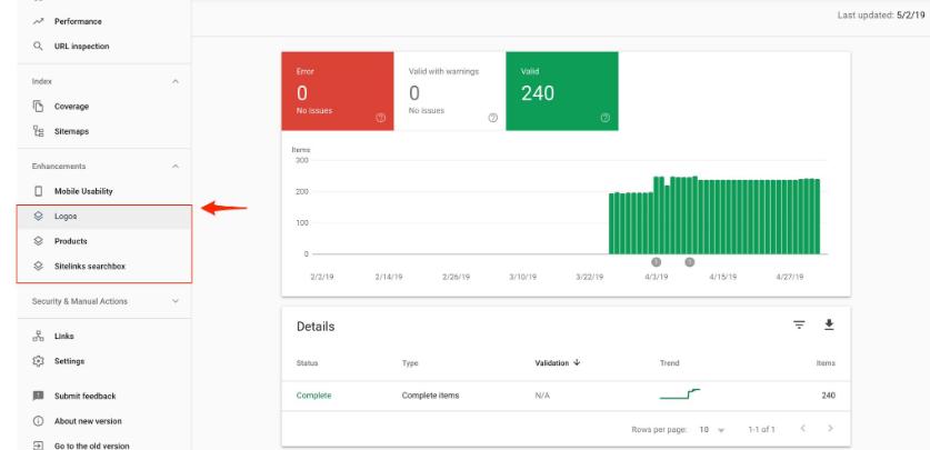 Google Search Console представил три новых отчета
