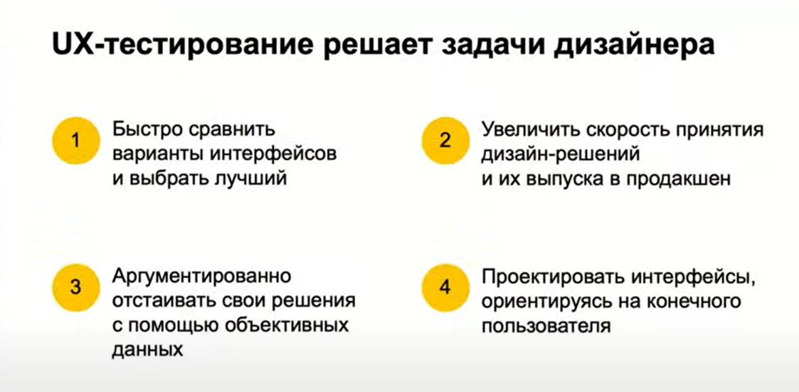 UX-тестирование для дизайнера