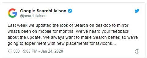 Google изменит дизайн десктопной выдачи из-за критики пользователей