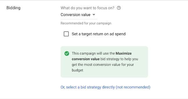 В Google Ads появилась умная стратегия назначения ставок
