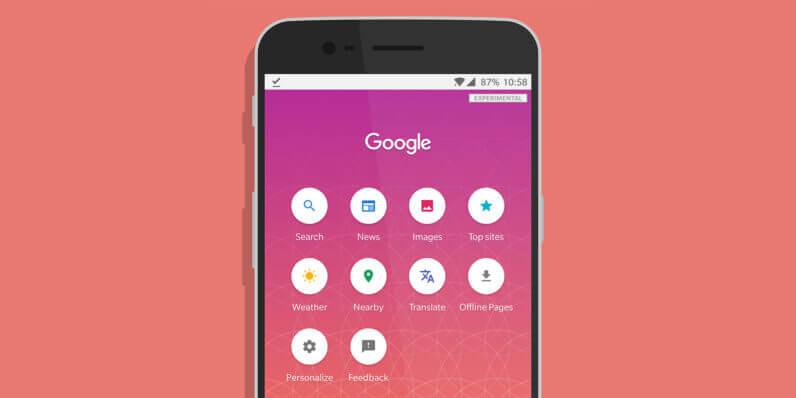 Google выпустила поисковое приложение для стран смедленным Интернетом