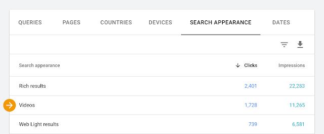 В Google Search Console появились 2 новых отчета для видео