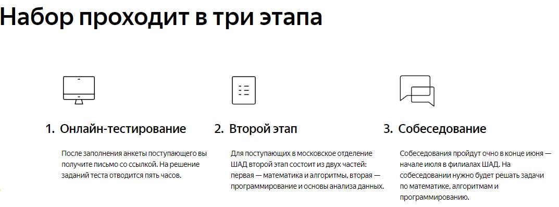 Яндекс открыл набор в Школу анализа данных