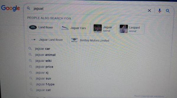 Google тестирует показ блока «People Also Search for» в автоподсказках