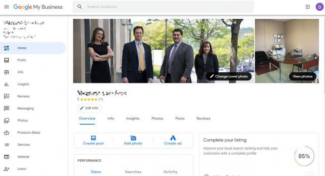 Google Мой Бизнес тестирует новый дизайн