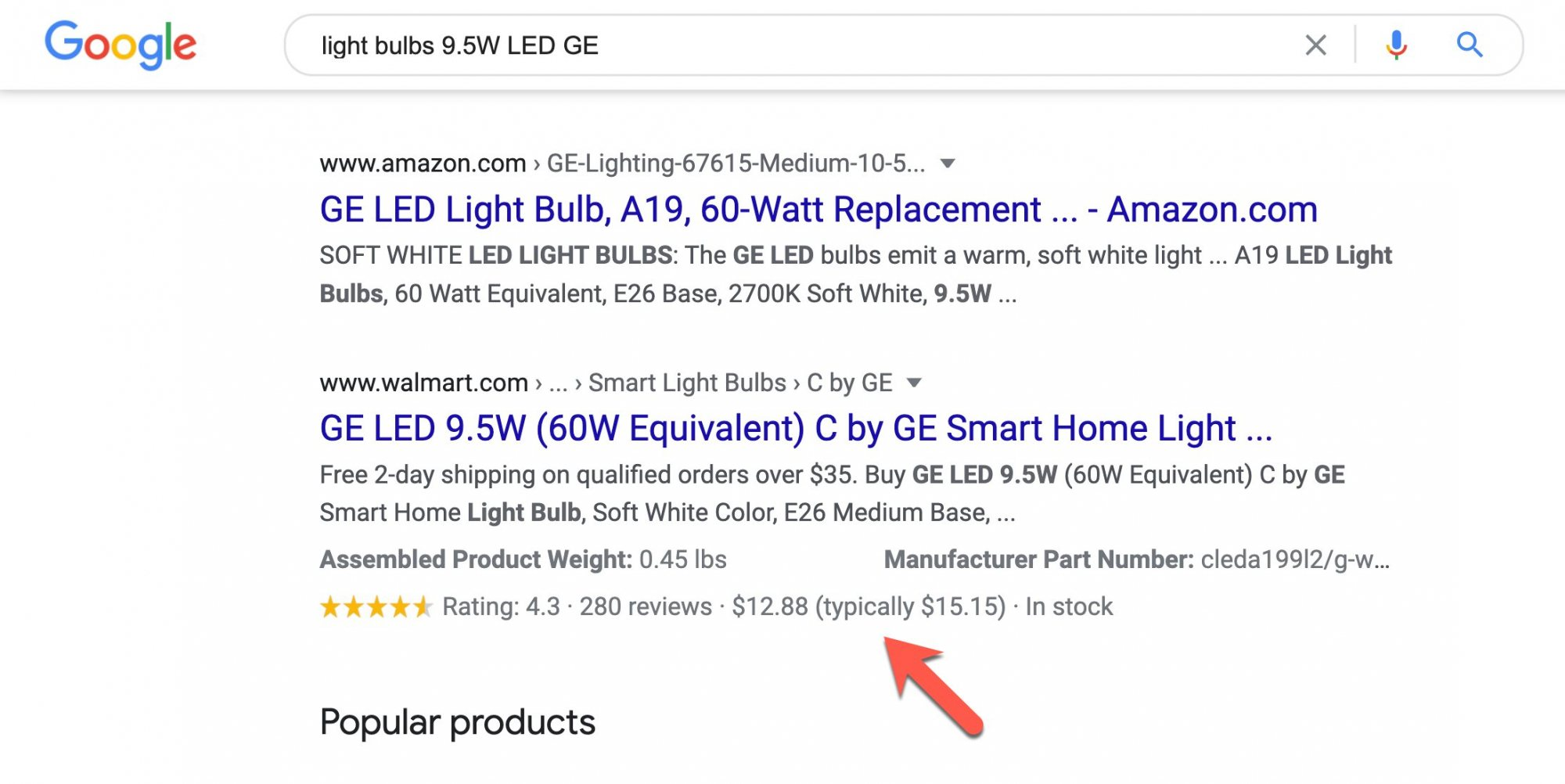 google-price-drop-rich-results