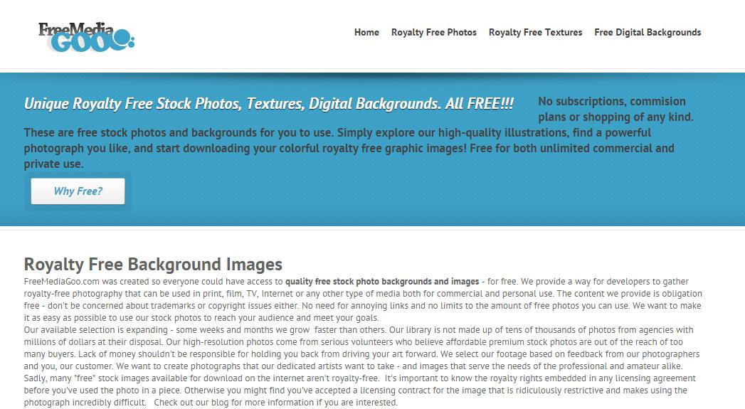 25+ бесплатных фотобанков