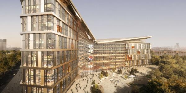 Яндекс показал проект своей новой штаб-квартиры