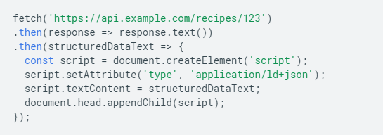 Google представил руководство, как использовать JavaScript для создания структурированных данных