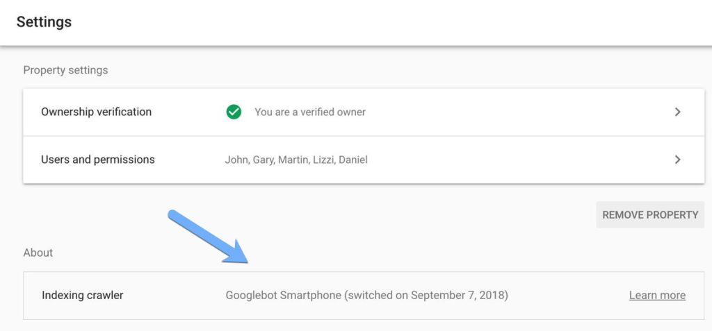 Google Search Console добавил новые данные по переходу на mobile-first