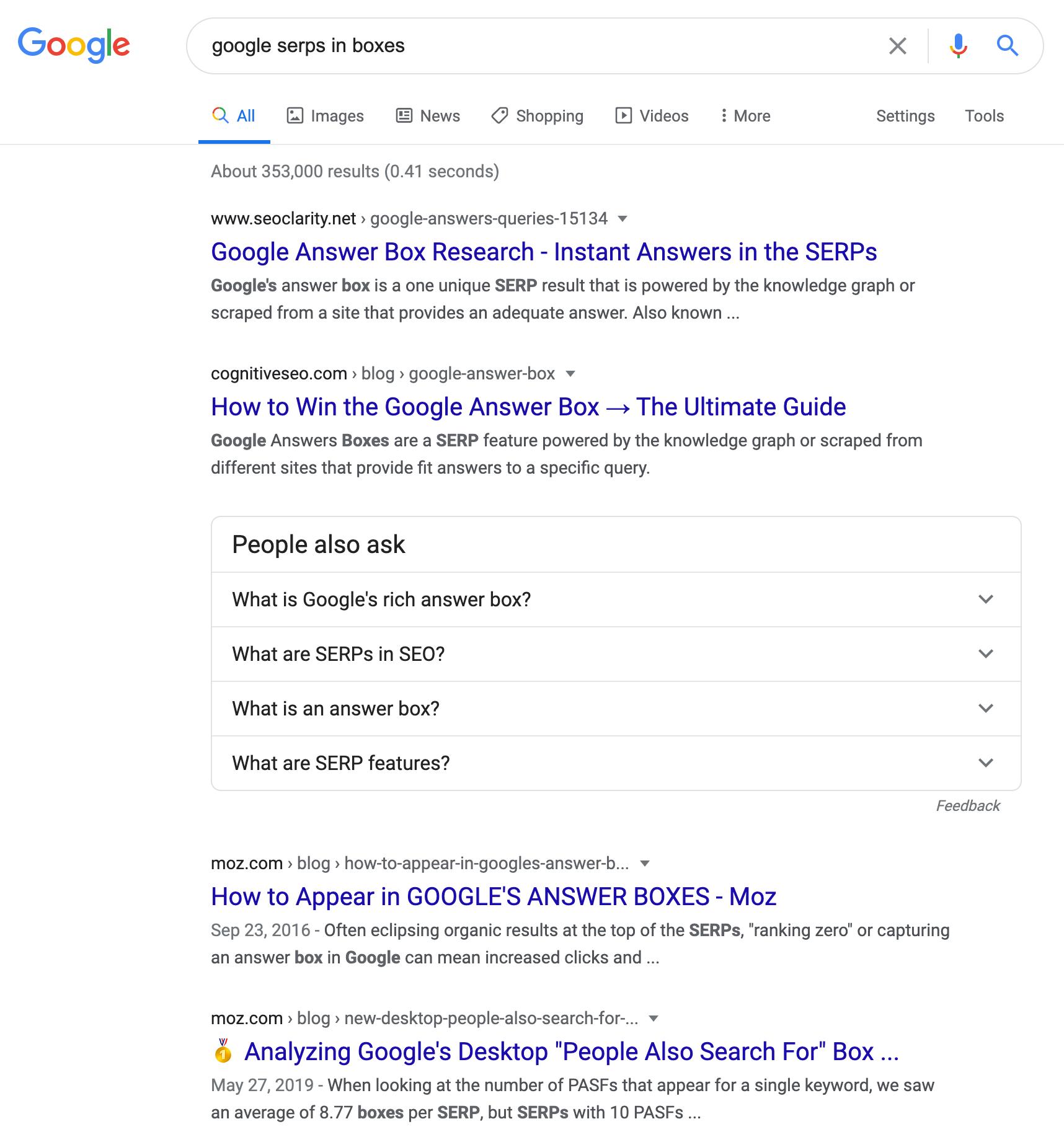 Google тестирует новый интерфейс результатов поиска