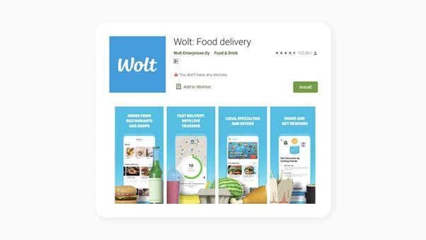 Приложение Wolt