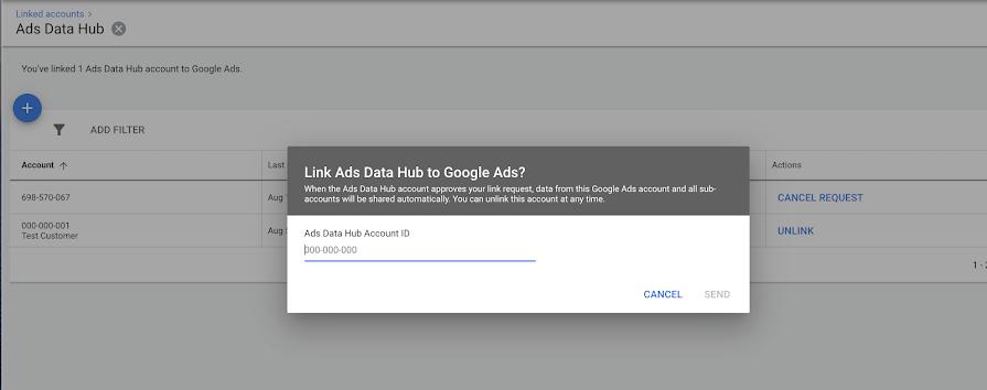 Аккаунты Google Ads теперь можно связывать с Ads Data Hub