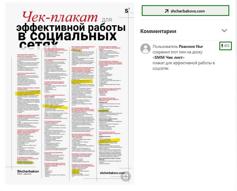 Сайты визуального контента