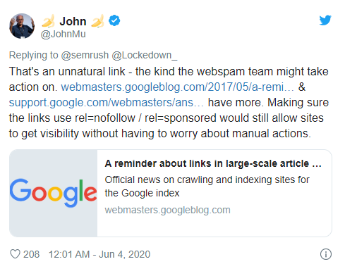 SEMrush закрыл сервис гостевого блогинга после комментария Google