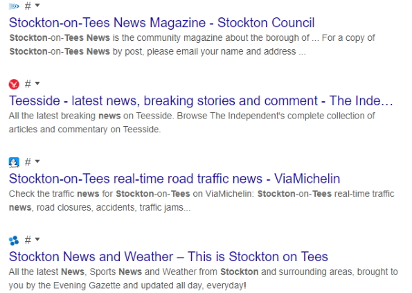 Google тестирует результаты поиска без URL-адресов