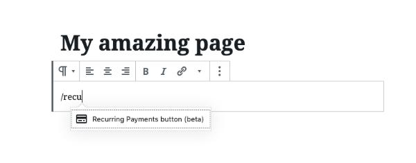 WordPress представил кнопку «Регулярные платежи», которая позволяет подписаться на платный контент