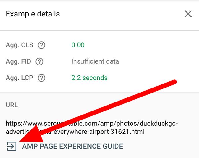 Google Search Сonsole добавил ссылку на Руководство по работе с AMP-страницами