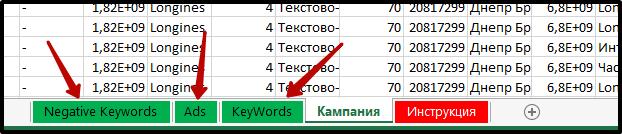 экспорт Яндекс Коммандера