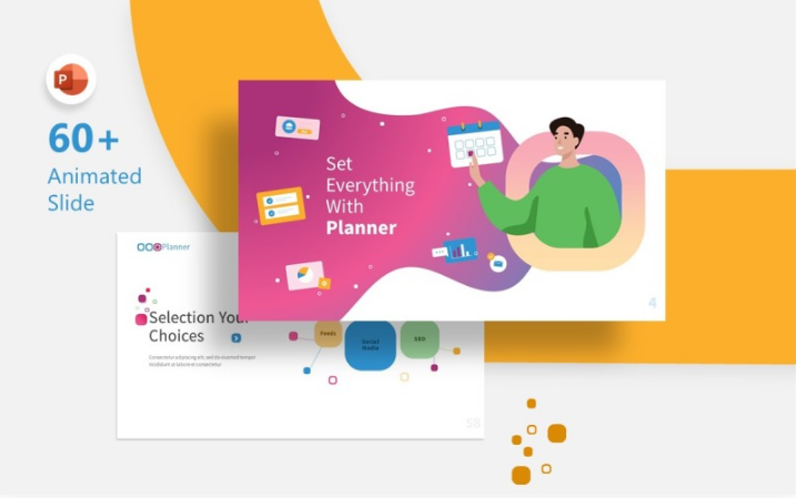 Planner Marketing Presentation Fully Animated