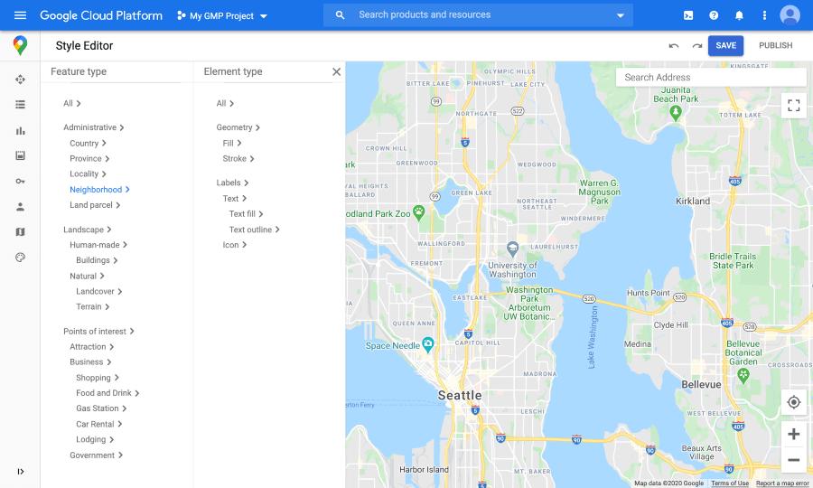 Google представил новые функции для кастомизации Google Карт
