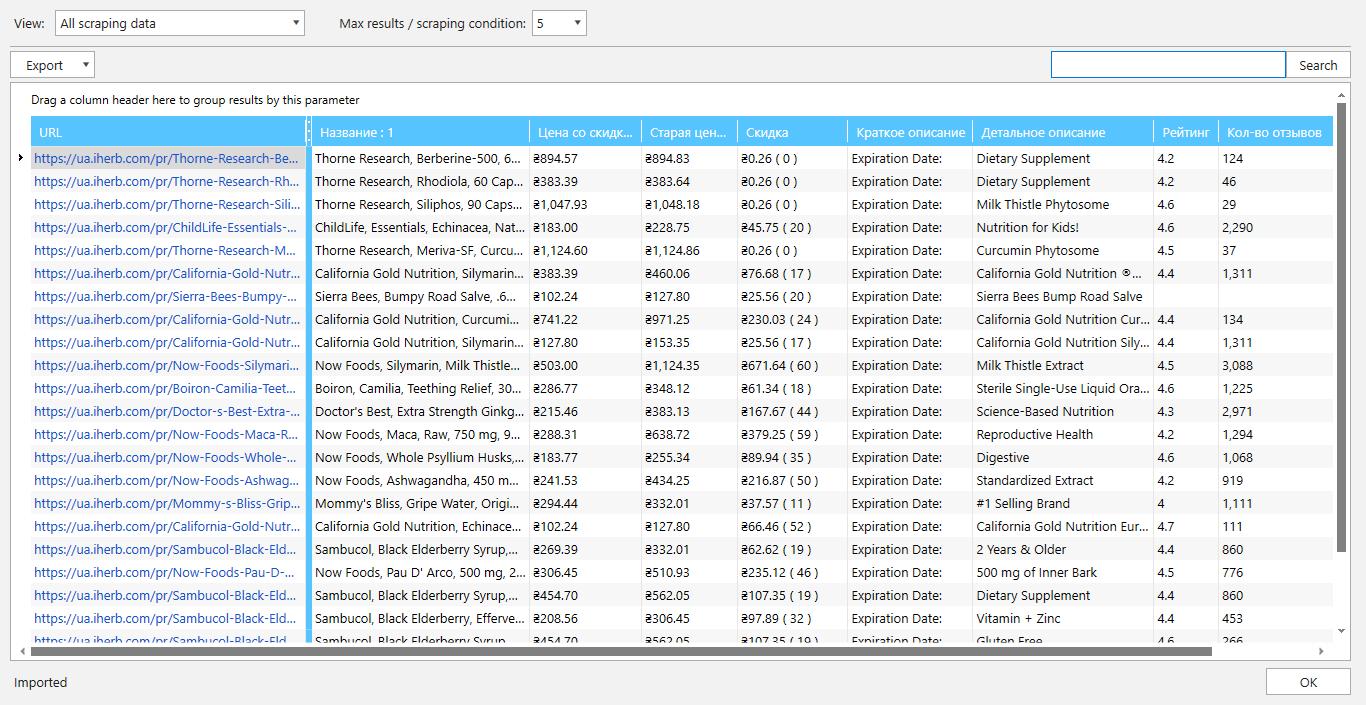 75 типов данных, которые можно спарсить в Netpeak Spider и Netpeak Checker
