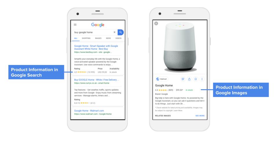 Google запускает сразу три новых функции для товарных сайтов