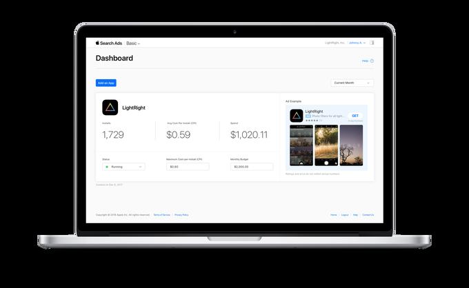 В App Store используют новый тип рекламы от Apple