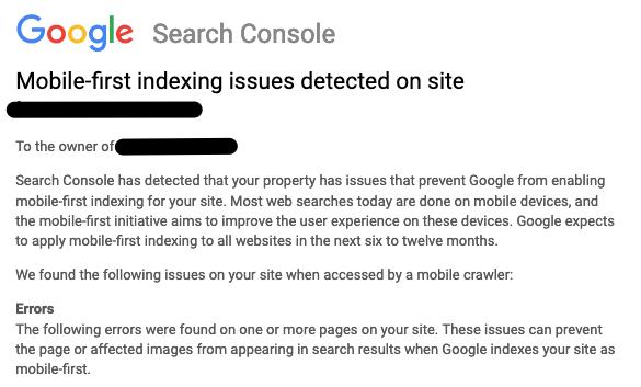 Google переведет все сайты на mobile-first индексацию в течение 6-12 месяцев