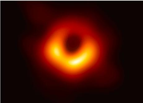 Ученым впервые удалось заснять черную дыру