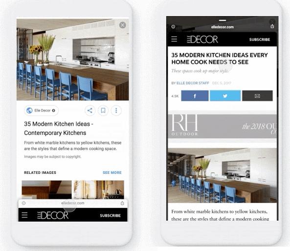 Google запустил в мобильном поиске Google.Картинок новую функцию
