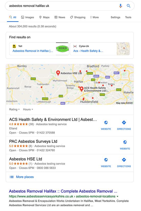 Google начал показывать сервисы конкурентов в локальном поиске для Европы