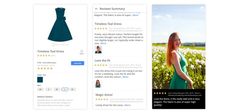 Google Shopping начал показывать пользовательские фото в отзывах