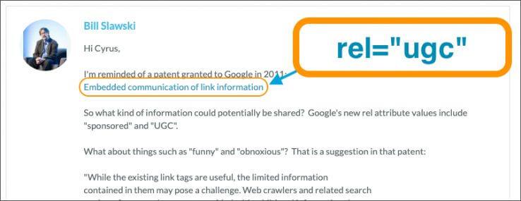 SEO-эксперимент: влияет ли атрибут ссылок UGC на ранжирование страниц в Google