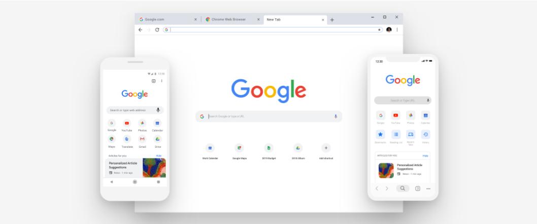 Google начал запуск нового дизайна Chrome