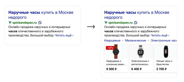 Яндекс запустил новые отображения для Турбо-страниц интернет-магазинов