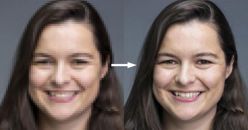 Google представил технологию масштабирования фото в 16 раз без потери качества