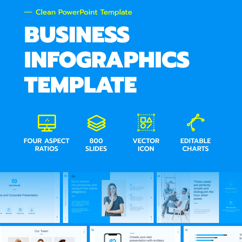 Entorum – Business with flexible infographics №85229