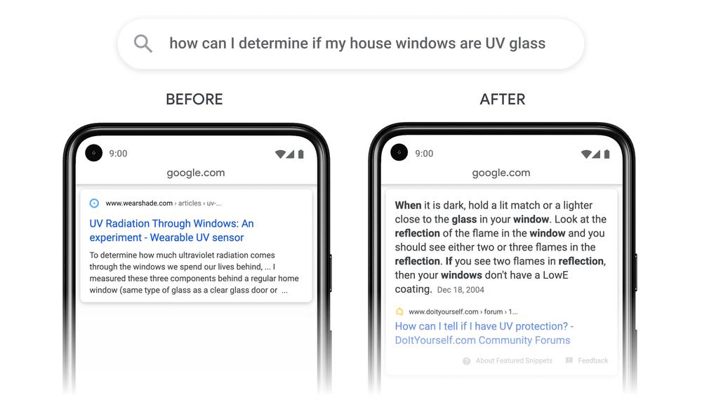 Как Google будет индексировать фрагменты страницы