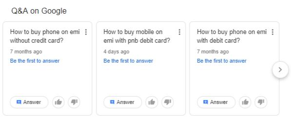Google закрыл функцию «Вопросы и ответы»